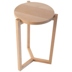 Felix Side Table, Solid Rock Maple