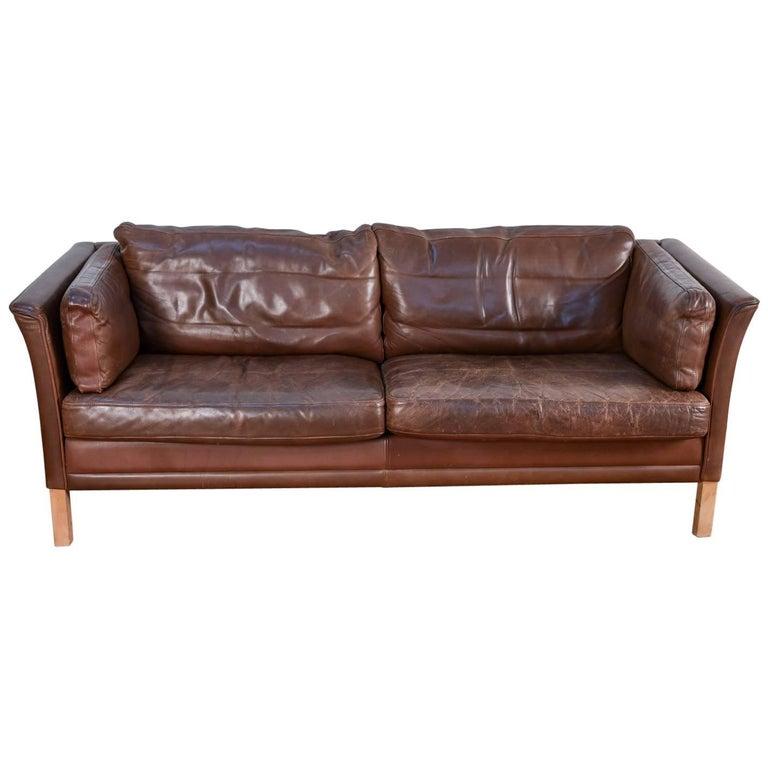 Mogens Hansen Model MH2225 Two-Seat Sofa or Loveseat