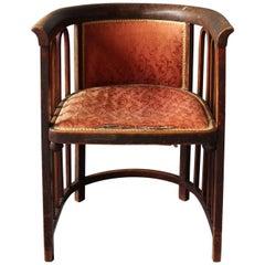 A Fine Austrian Art Nouveau Bentwood Armchair