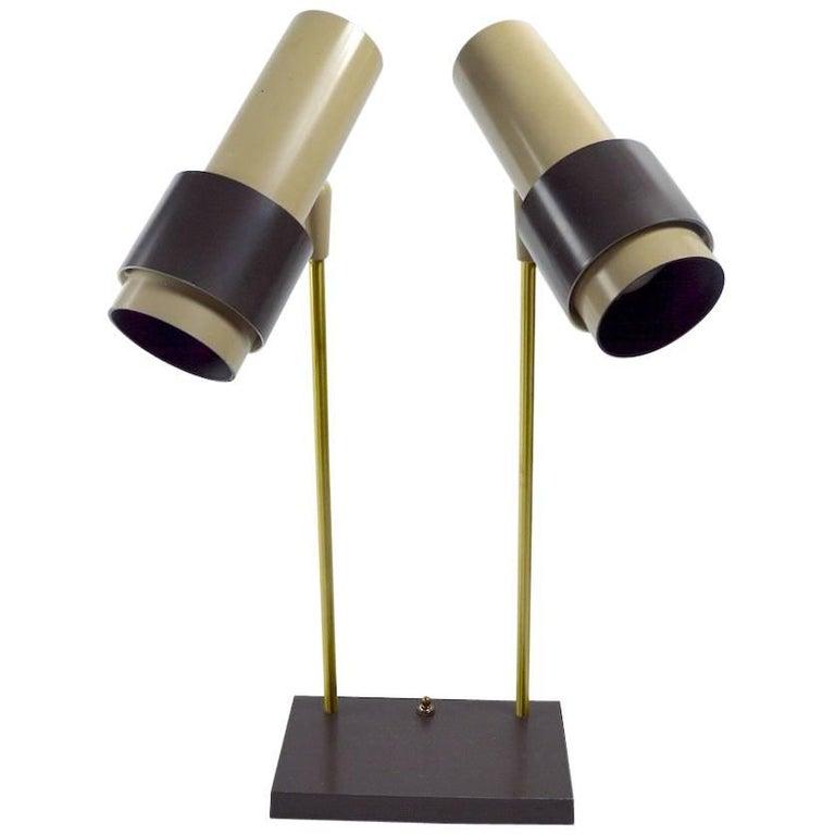 Thurston for Lightolier Two-Light Desk Lamp