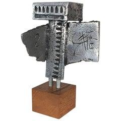 Walter Schluep Sculpture