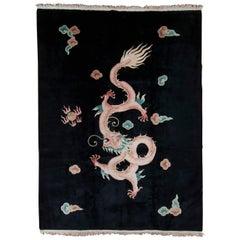 Chinese Art Deco Carpet, circa 1920