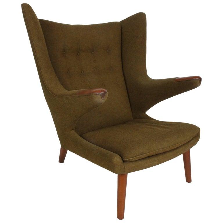 Hans J. Wegner Papa Bear Easy Chair by AP Stolen