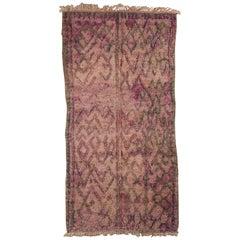 Vintage Moroccan Rug, 20th Century
