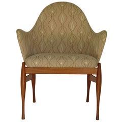 Danish Modern Teak Side or Occasional Chair