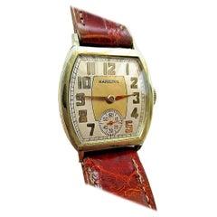 Art Deco Hamilton 987E Gentlemans Watch, circa 1936