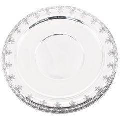Gorham Floral Pattern Platter