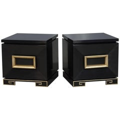 Pair of Vintage James Mont Chests