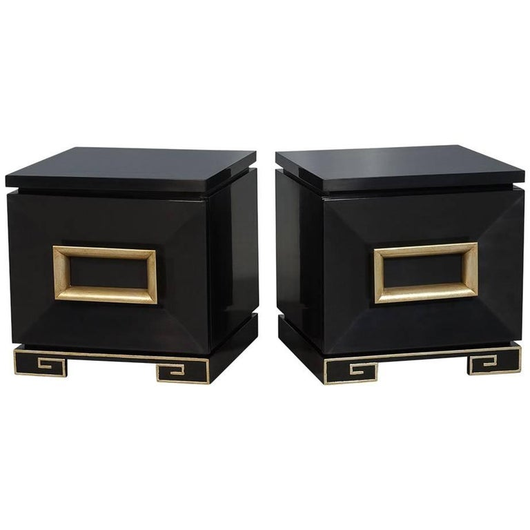 Pair of Vintage James Mont Chests For Sale