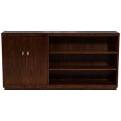 Modern Hollywood Rosewood Bookcase Cabinet