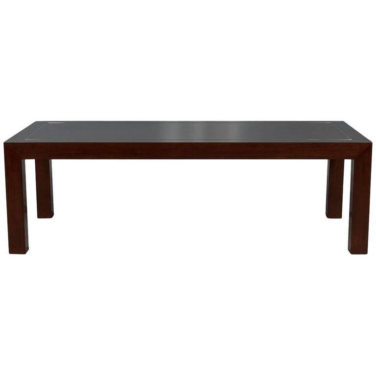 Modern Deco Inspired Mahogany Dining Table For Sale at 1stdibs : 8541673master from www.1stdibs.com size 768 x 768 jpeg 18kB