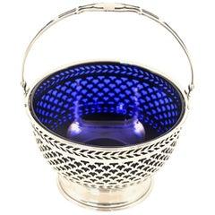 Cobalt Bonbons Basket