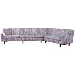 Edward Wormley for Dunbar '45-Degree' Sectional Sofa
