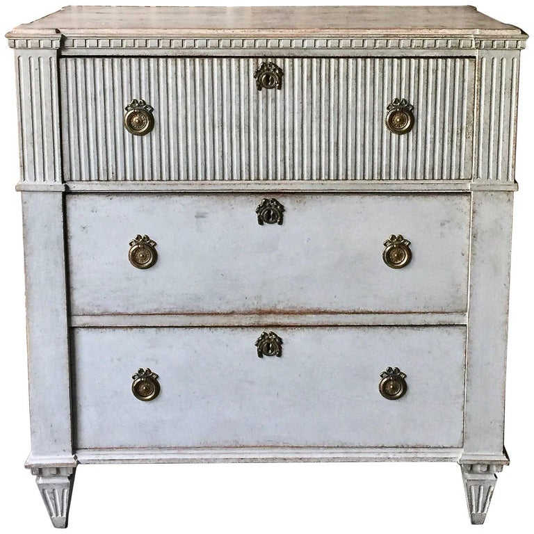 Late Gustavian Period Chest of Drawers