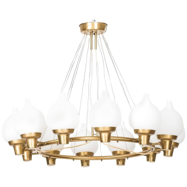 Hans Bergström Ceiling Lamps by Ateljé Lyktan in Sweden