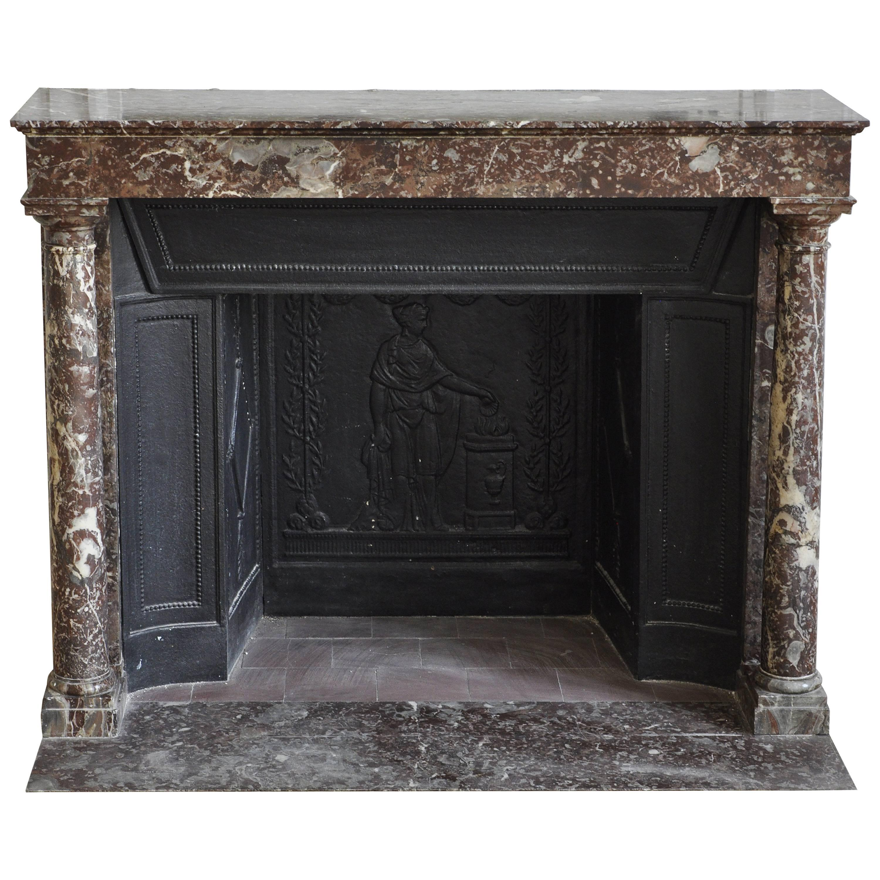 to ehow restore how a cast fire fireplace grate iron
