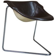 """""""Pussycat"""" Armchair Design by Kwok Hoi Chan for Steiner, 1968"""