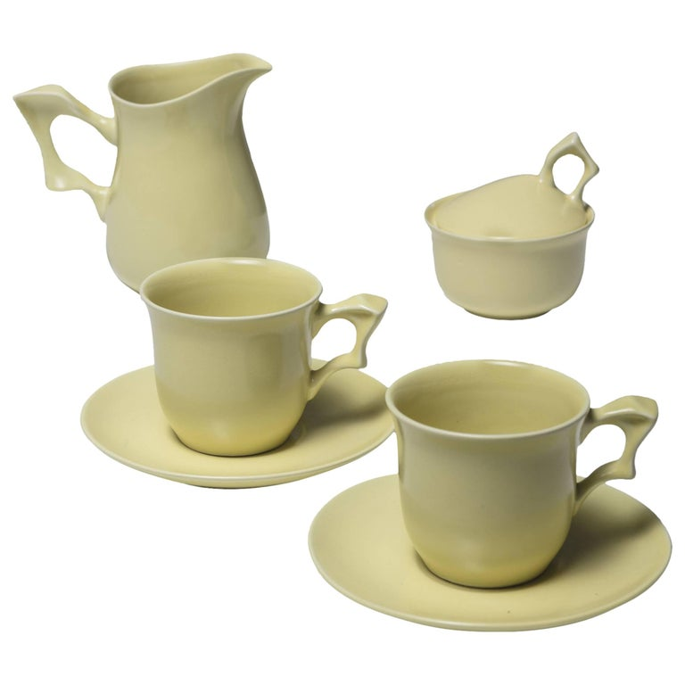 Ceramic Set by Antonia Campi for SCI Laveno For Sale