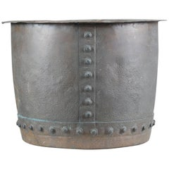19th Century English Riveted Copper