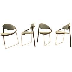 Memphis Style Chairs by Boonzaaijer Mazairac, 1986