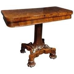 Superb William 4th Rosewood Tea Table