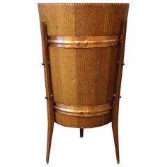 Wine Cooler in Teak and Copper, Danish Design, 1960s