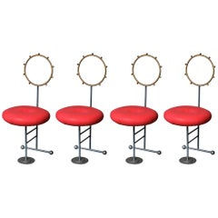 Luigi Serafini Santa Chairs for Sawaya and Moroni, Set of Four