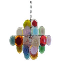 Multi-Color Murano Glass Chandelier