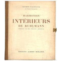 """HARMONIES - INTERIEURS DE RUHLMANN"" Book"