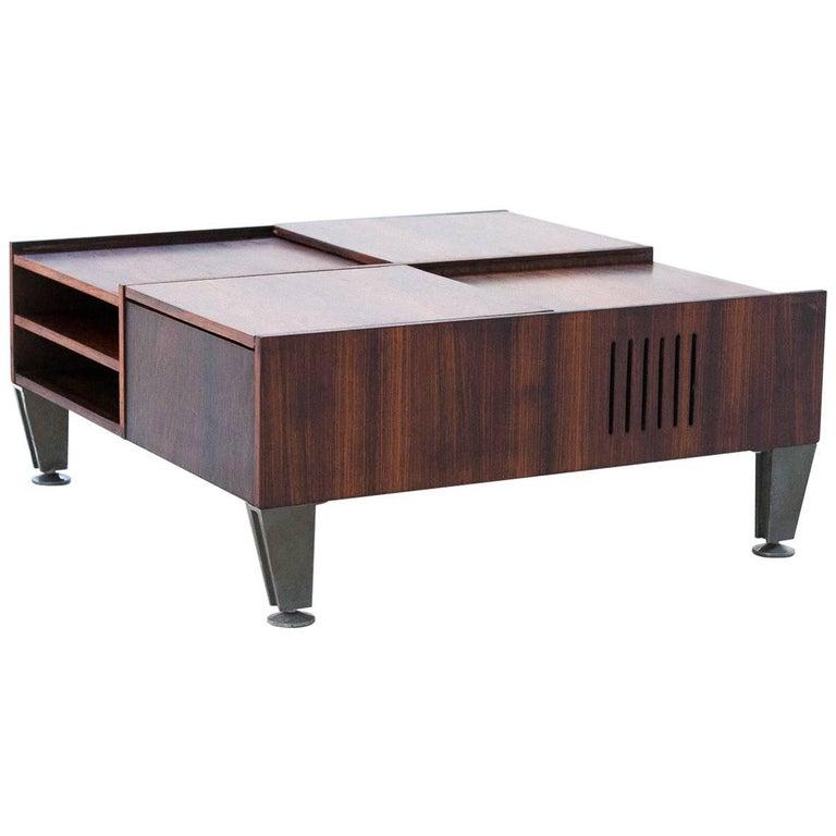 Italian Multifunctional Modern Low Table Circa 1960 For