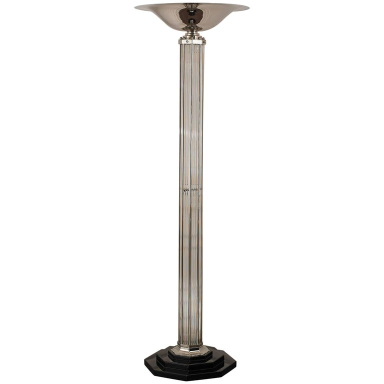 Art Deco Floor Lamp For Sale