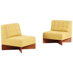 "Pair of ""Capitole"" Easy Chairs by Pierre Guariche, 1960"