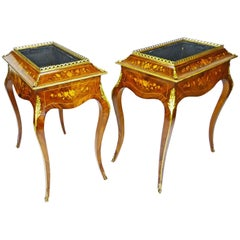 Jardiniere Pair 19th Century French Louis XV Style Planters - RETIREMENT SALE