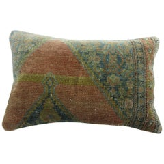 Fine Persian Senneh Rug Pillow