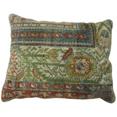Persian Malayer Border Rug Pillow