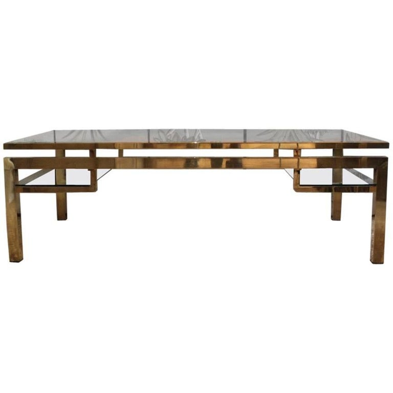 Fine Quality 1970s French Coffee Table For Sale At 1stdibs