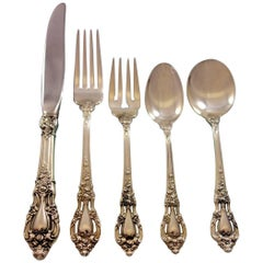 Eloquence by Lunt Sterling Silver Flatware Set for 18 Service 97 Pieces