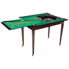 Rare Edwardian Walnut Roulette Games Table by Maple & Co of London
