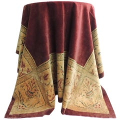 19th Century Italian Velvet Cloth or Throw