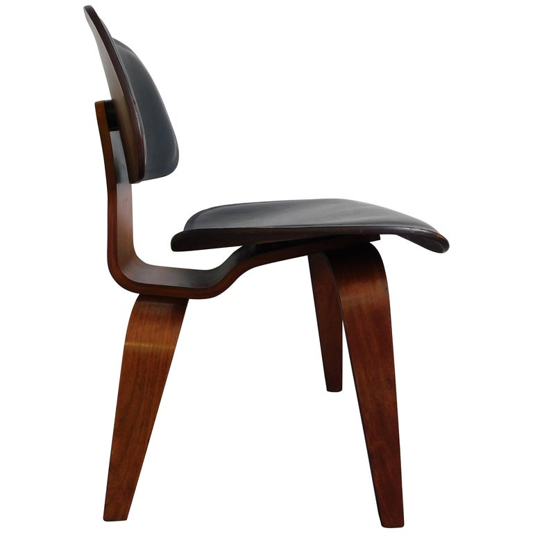 Rare DCW Chair by Charles and Ray Eames for Herman Miller, 1950s
