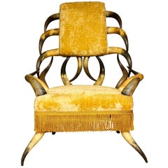 Cow-Horn Armchair