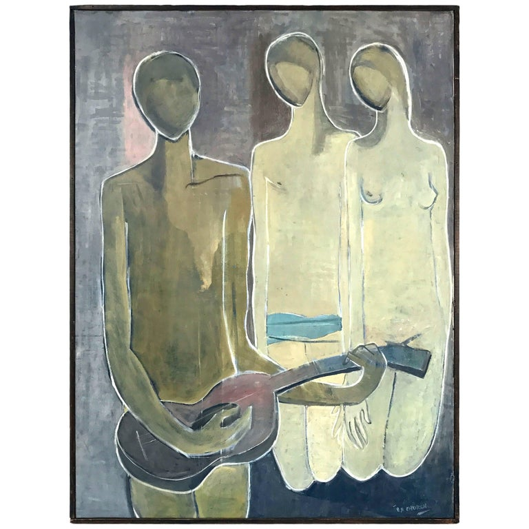 'Musical Composition' by Stuart H. Church, 1953 For Sale