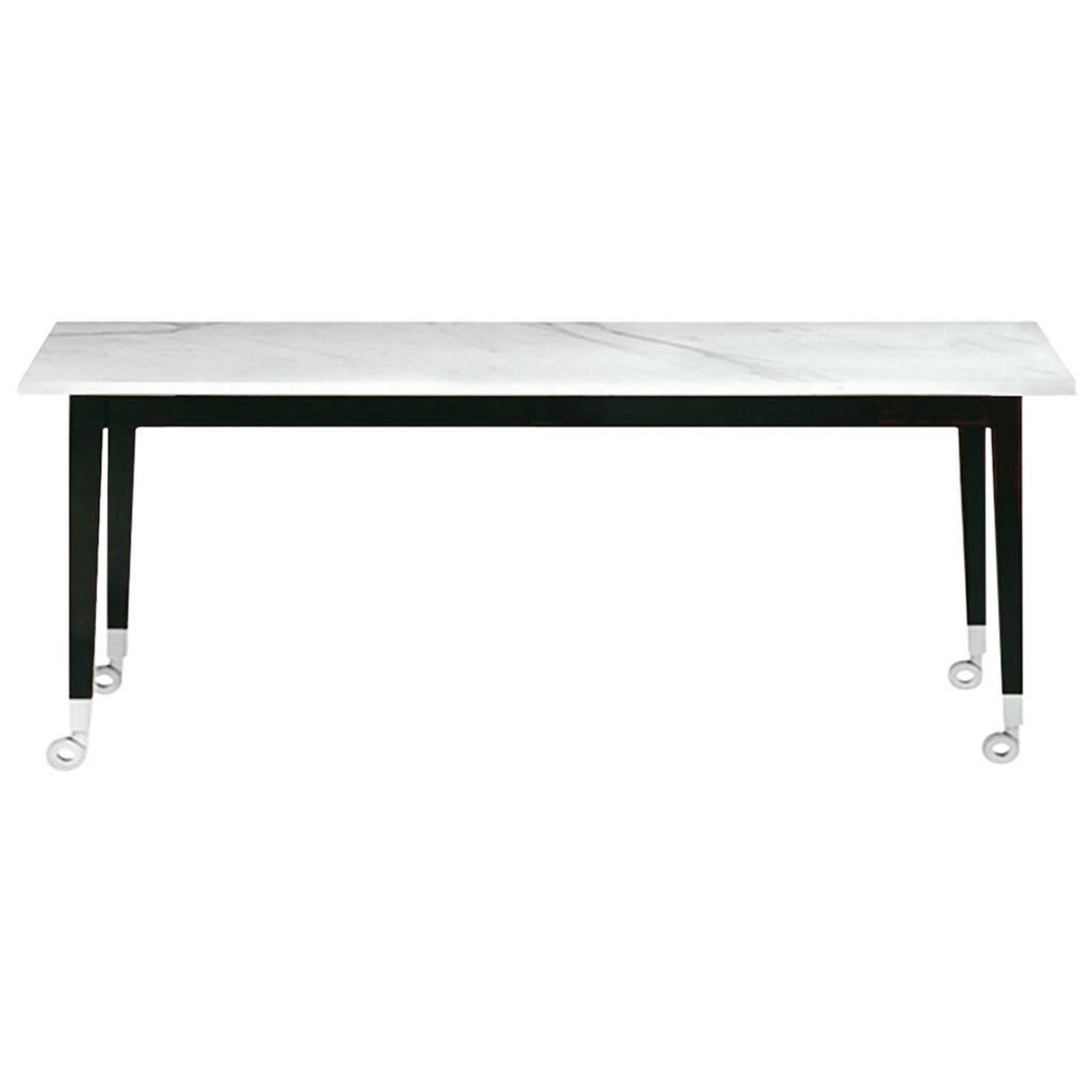 Neoz Carrara Marble Cad Table Designed By Philippe Starck For Driade