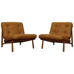 Alf Svensson Lounge Chairs Model Domus 1 for DUX
