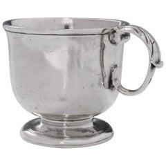 George III English Silver Tot Cup