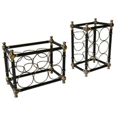 Sculptural 20th Century Wine Rack