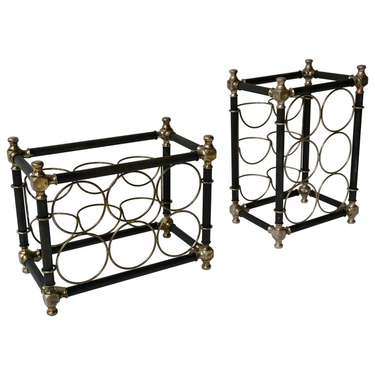 Sculptural 20th Century Wine Rack For Sale