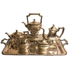 Large Full Service Tea Set by Gorham 1925