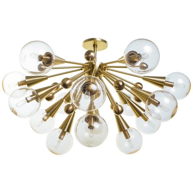 Carol Master Antiques Sputnik chandelier, new