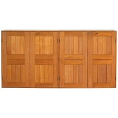 Pair of Mogens Koch Cabinets in Teak for Rud. Rasmussen